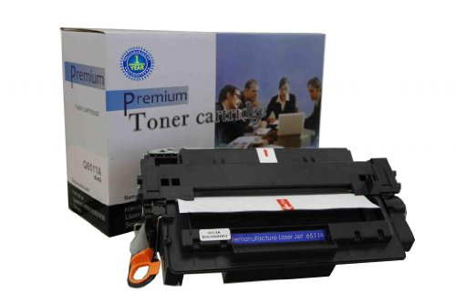 V4INK ® New Compatible HP Q6511A Toner Cartridge-Black for HP LaserJet 2400/2410/2420/2420n/2420d/2420tn/2420dn/2420dtn/2430/2430n/2430tn/2430dtn HP Color Laserjet 2410/2420/2420d/2420n/2420dn/2430/2430n/2430t/2430tn/2430dtn, Office Central