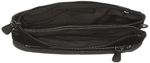 s.Oliver (Bags) 39.712.94.4499 - Borse a tracolla Donna, Schwarz (Black/schwarz), 3x15x24.5 cm (B x H T)