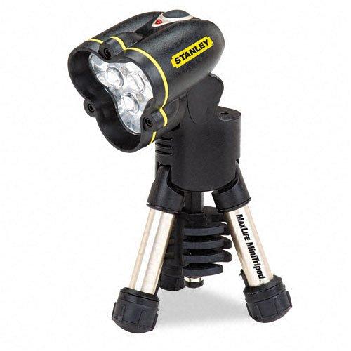 stanley-bostitch-maxlife-mini-tripod-led-flashlight-three-aa-batteries-black-yellow-sold-as-2-packs-
