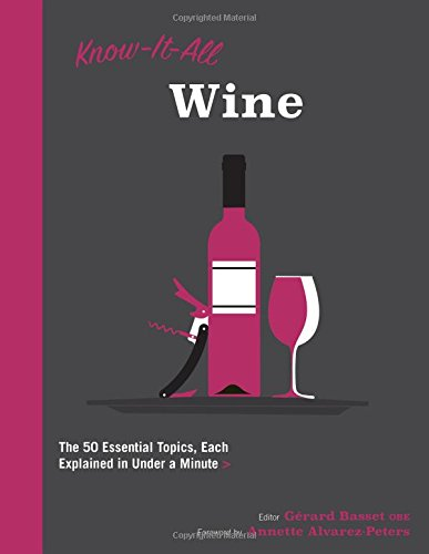 - Know It All Wine: The 50 Essential Topics, Each Explained in Under a Minute