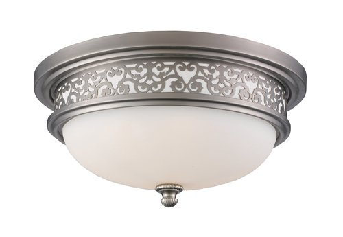Z Lite Ashbury 3 Light Semi Flush Mount ★ Best Value ★ Top