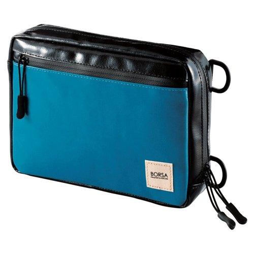ELECOM Bag in Bag Gadget Pouch With Waterproof Zipper Blue BMA-GP06BU by Elecom