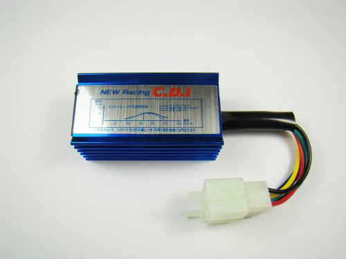 Performance Racing CDI Box 6 pins GY6 Pit Dirt Bike ATV Scooter Moped 50 125 150 250cc