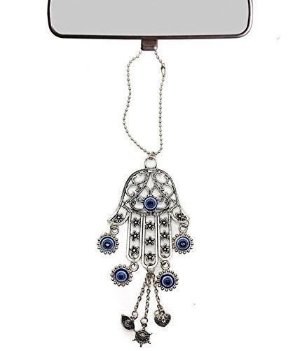 Nazareth Store Accessoires de voiture Miroir de voiture Vue arri/ère Amulette Bonne Chance Nazareth