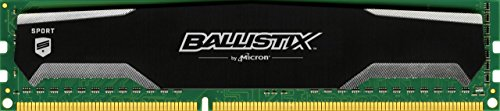 Small Mod Media (Ballistix Sport 4GB Single DDR3 1600 MT/s (PC3-12800) UDIMM 240-Pin Memory - BLS4G3D1609DS1S00)