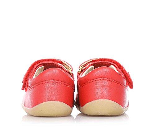 Bobux  72550, Bride de cheville fille - Rouge - rouge, 36 EU enfant