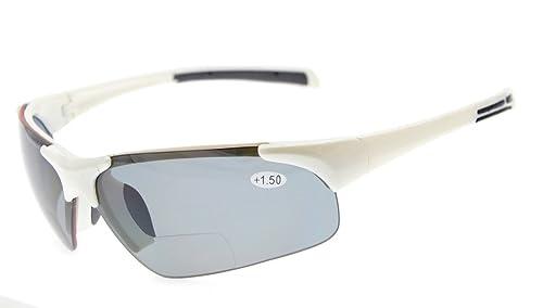 Eyekepper TR90 Deportes irrompibles Semi-Rimless gafas de sol bifocales Béisbol Running Fishing Driv...