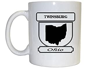 Twinsburg, Ohio (OH) City Mug (black)