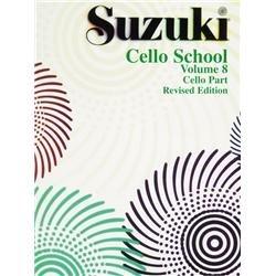 Suzuki Cello School, Volume 8: Cello Part (The Suzuki Method Core Materials) (Part v) (Suzuki Book 8 Cello)