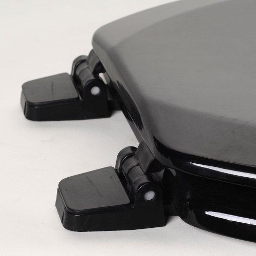 Black Elongated Comfort Seats C1B4E290 Deluxe Molded Wood Toilet Seat