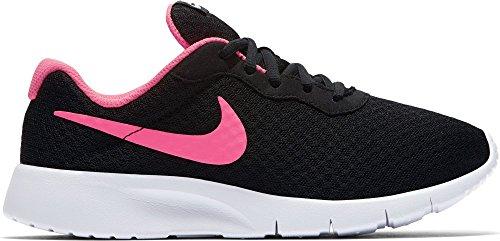 Girl's Nike Tanjun Shoe Black/Hyper Pink/White Size 5 M