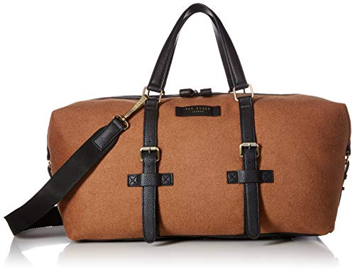 Ted Baker Men's CABBLE Document Bag, camel, O/S