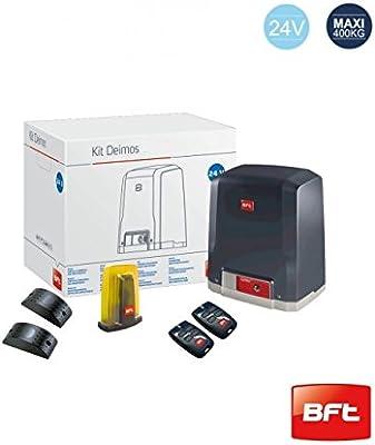 Kit BFT Deimos BT a 400 – 24 V – Sistema de motorización de puerta: Amazon.es: Bricolaje y herramientas