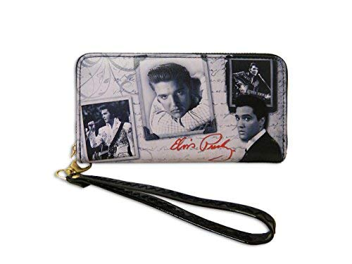 Elvis Presley Wallet - Frames With Letter