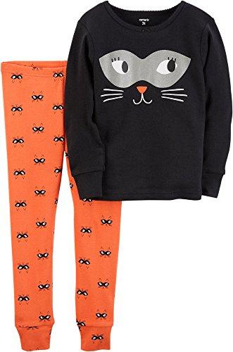 Carter's Girls' 2T-8 2 Piece Snug Fit Cotton Halloween PJs 3T