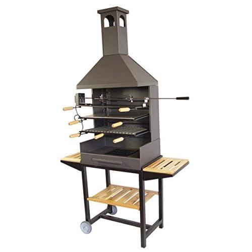 415z3NqgyzL. SS500 Barbacoa para leña y carbón Barbacoa de alta calidad Indispensable para las grilladas del verano