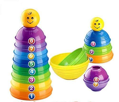 Kaendi Brilliant Basics Stack & Roll Cups,Brilliant Basics Stack & Roll Cups, Lark, Amuse, Trifle, Twiddle