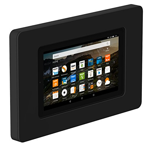 VidaMount On-Wall Tablet Mount - Amazon Fire 7'' 5th Gen - Black by VidaMount