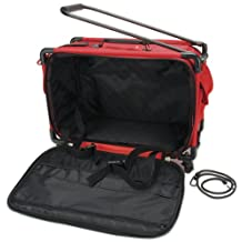Tutto 5222MA-L-RED Art Supply Totes and Carrier Bags Machine on Wheels Case 21-Inch X 13-1/4-Inch X 12-Inch -