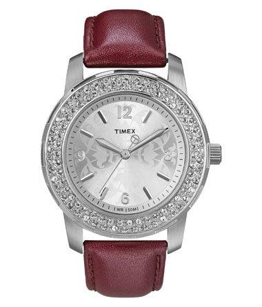 Timex Fashion Analog Silver Dial Women's Watch