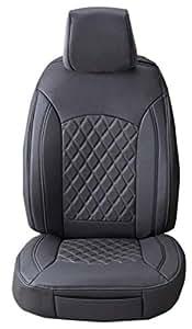 superlamb 2015 2018 toyota highlander leatherette seat covers w silver diamond. Black Bedroom Furniture Sets. Home Design Ideas