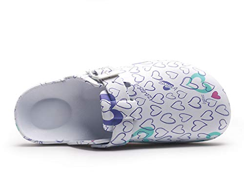 Toe Spring Print Light Weight Beach Eva Closed Progettazione Summer Shoes Clogs Bathroom Surgical A Fancy Women Slippers H85zwx7