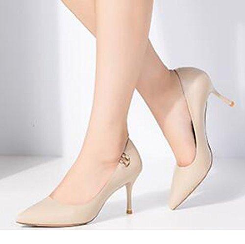 34 5cm Talons Noir Travail Mode De UK Pink Chaussures Rétro EU 2 Femme Party Mariage Femmes Nightclub 7 Banlieue Sexy Chaussures Cour TH5qWdw