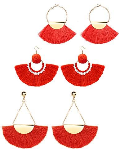 3 Dangle Earrings Jewelry - 7