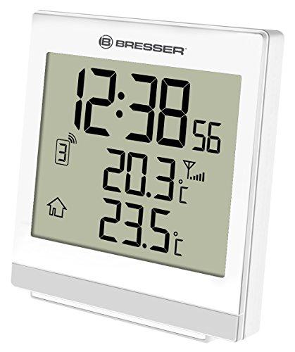 Bresser Funk-Thermometer Temeo SQ, weiß