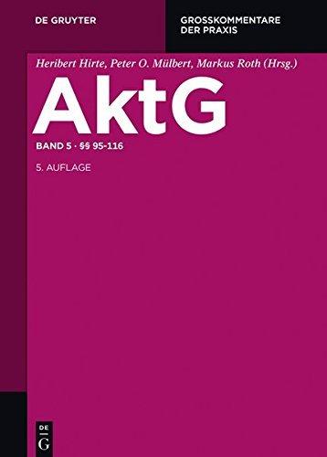 §§ 95-116: Band 5 (Großkommentare der Praxis) (German Edition)