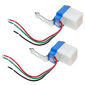 Nuit V Mini Pour Sensor Lampe 10 Interrupteur Twilight Switch 12 Capteur A Lumière Détecteur Led Crépusculaire Extérieur De 8nwP0kO