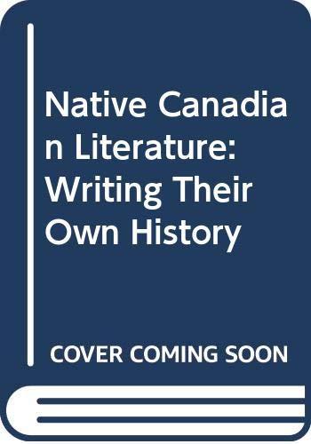 Native Canadian Literature Aditi Yahta
