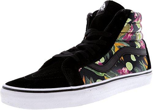 Bestelwagen Sk8 Hi Resissue Heren Zwart Multi-color Suède Hoge Top Sneakers Schoenen Zwart
