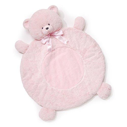 Baby GUND Cozy Mat Tilley Stuffed Animal Plush, Pink, 4.5