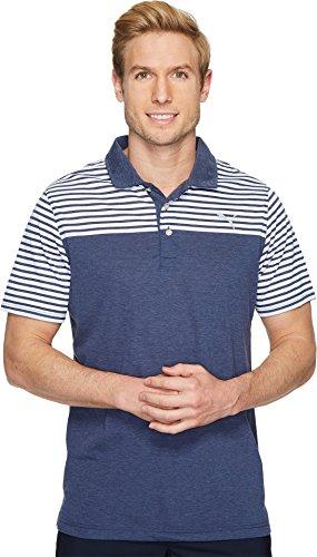 Puma Golf 2018 Men's Clubhouse Polo, Peacoat, (Puma Golf Polo Shirt)