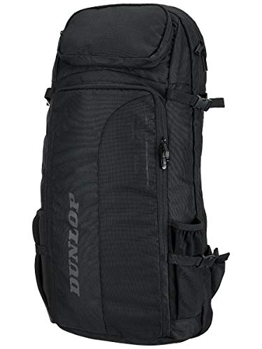 DUNLOP-CX Performance Long Tennis Backpack Black-(045566908582)