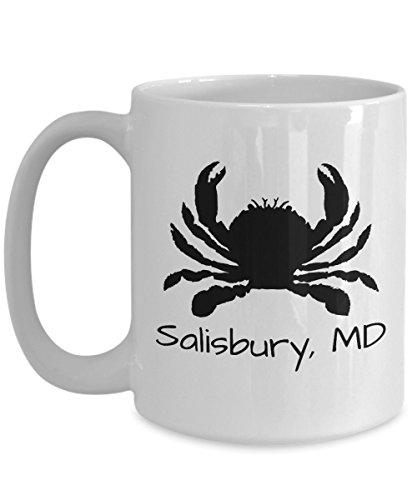 Salisbury crab mug | Maryland themed gift