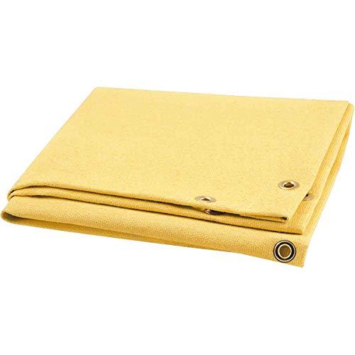 Steiner 374-3X4 Golden Glass 28-Ounce Acrylic Coated Fiberglass Welding Blanket, Gold, 3' x 4'