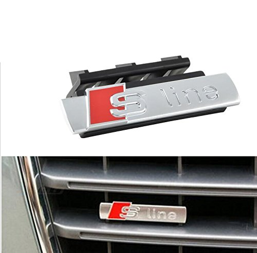 E849 S Line 3D Front Grille Emblem Sign Badge Car Sticker Front Grill ()