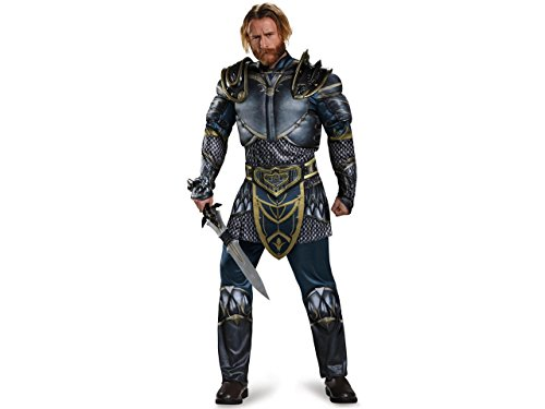 Disguise Men's Plus Size Warcraft Lothar Muscle