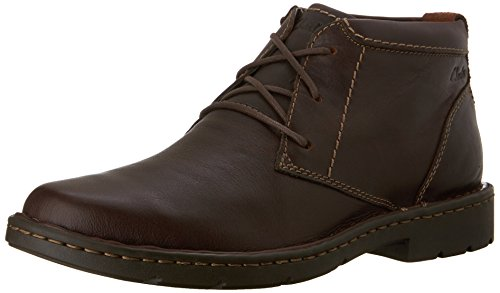 [Clarks Men's Stratton Limit Chukka Boot,Brown,10.5 M US] (Mens Clarks Casual Boots)
