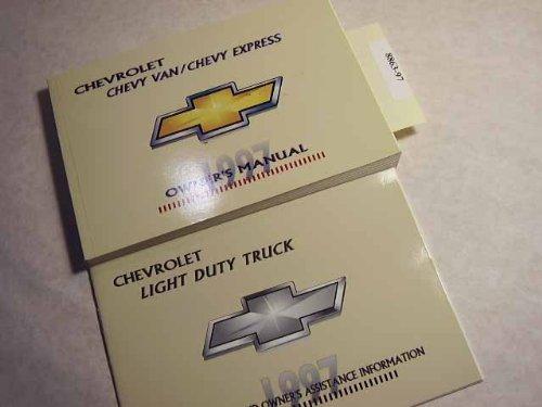 1997 Chevrolet Chevy Van, Express Van Owners Manual