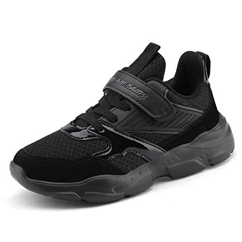 DREAM PAIRS Boys ZP19001K Running Shoes Athletic Sneakers All Black Size 11 M US Little Kid (Best Pair Of Running Shoes)