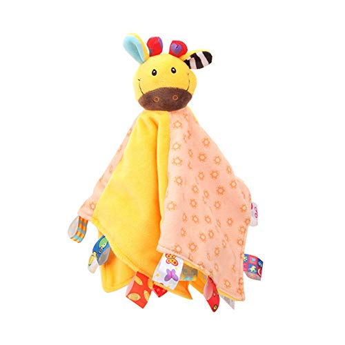 Facaily Baby Soft Plush Animal Doll Toy Infant Appease Towel Grasping Rattles Playmate Calm Toys
