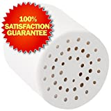 Universal Shower Filter Replacement Cartridge - Works Best with Any Similar Shower Head Filter - Water Softener - Remove Chlorine & Hard Water - By Natural Rapids