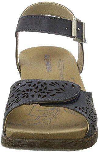20305 Cuñas Gris de Romika Jeans 96 Mujer Sandalias OwaqnWdUI