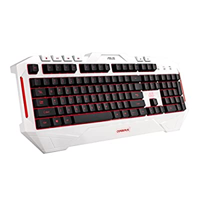 ASUS Gaming Keyboard Cerberus Arctic White