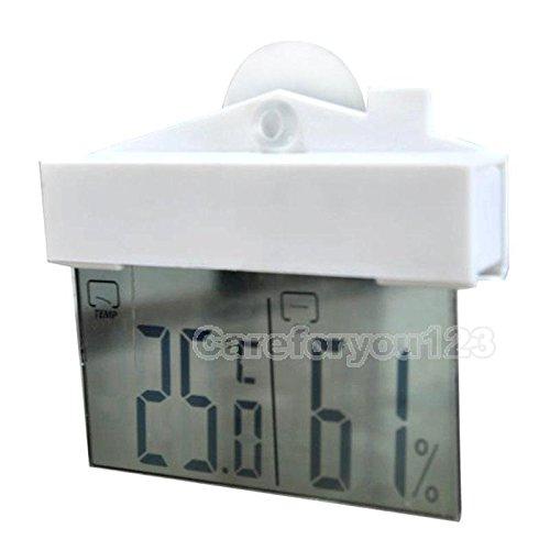 Shalleen LCD Digital Thermometer Hygrometer Meter