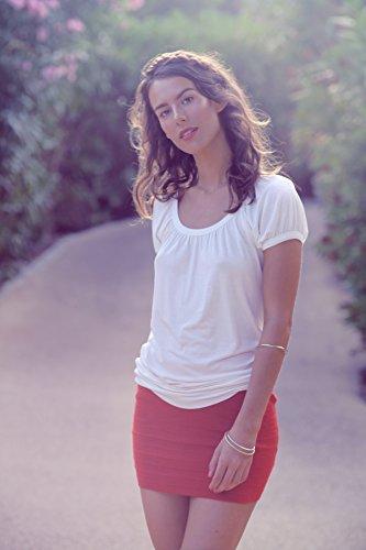 Bestyledberlin Damen Shirt, Top t56a 40/L pink
