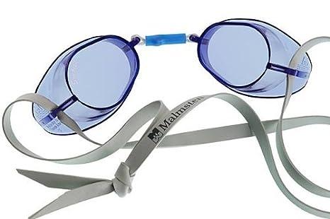 ad902e8a26a2 Image Unavailable. Image not available for. Color  Malmsten Swedish Swim-Swimming  Goggles-Blue ...